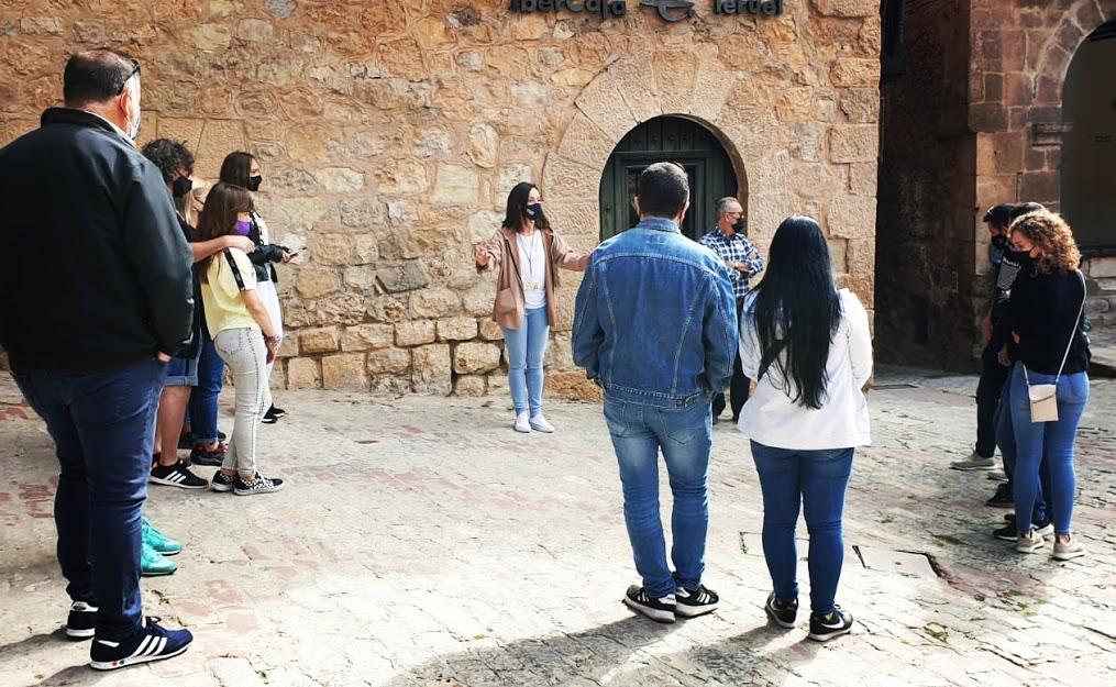 De #turismo por #Albarracín #CasaMuseo y #Teruel con Andador Visitas Guiadas