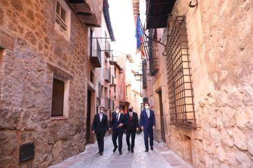 Noticia Diario de Teruel: Javier Lambán exige cuantificar el coste real y por habitante de los servicios básicos  – Los presidentes de Aragón, Castilla La Mancha y Castilla y León se reúnen en Albarracín