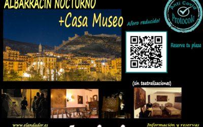 Visita Guiada en ALBARRACÍN ESPECIAL Entre 2 Luces o Nocturno