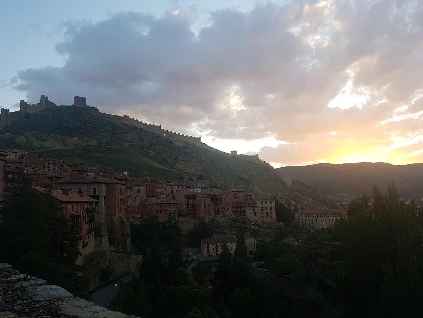 #Amaneceres en #Albarracín … #momentosúnicos que disfrutar en la provincia de #Teruel