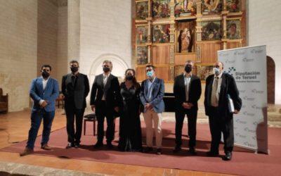Noticia Eco de Teruel: El músico y compositor Antón García Abril ha sido homenajeado en Albarracín por el Instituto de Estudios Turolenses (IET)