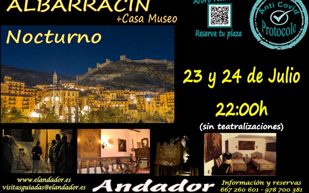 Viernes 23 y Sábado 24… Visita Guiada en Albarracín Nocturno!