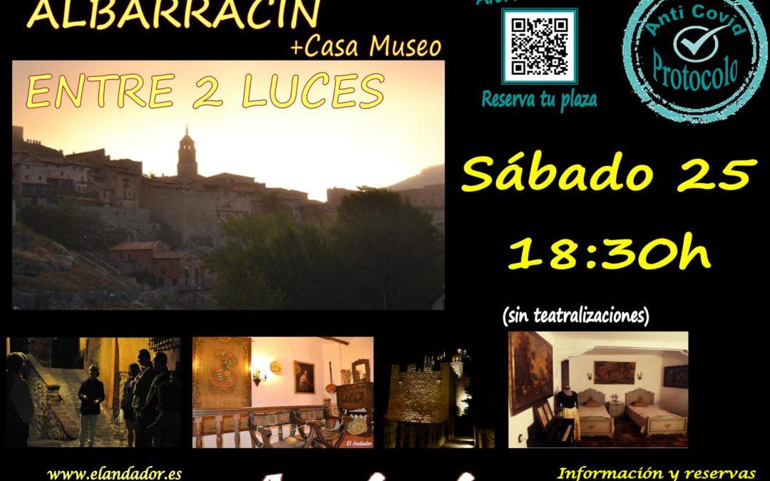 Este Sábado 25 de Septiembre… Albarracín Entre 2 Luces! Reserve su plaza!