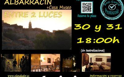 Este 30 y 31 de Octubre… Visita Guiada en Albarracín Entre 2 Luces! Reserva tu plaza