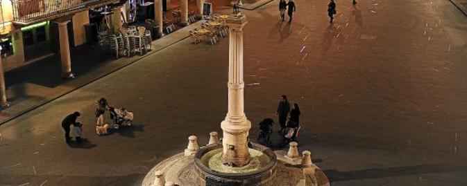 Plaza del Torico. Teruel